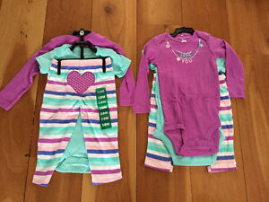 New! Carters 3 piece sets size 18 months reduced
