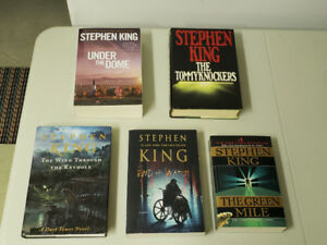 Stephen King en Anglais - grand format