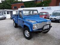 1987 Land Rover Defender 110 300 TDi DIESEL Hi Cap Pick Up, 12 Month MOT