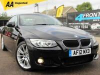 2012 BMW 3 SERIES 320I M SPORT COUPE AUTOMATIC PETROL COUPE PETROL