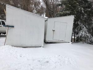 Loafing sheds or 16x16 shop