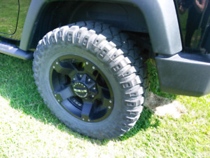 Mickey Thompson Metal Series Rims and Tires
