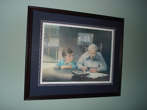 Framed print by Ted Mills
