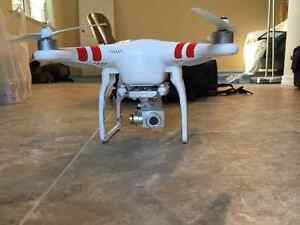 DJI Phantom 2 Vision Plus with backpack case and extra batteries Prince George British Columbia image 3