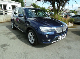 2014/64 BMW X3 2.0d xLine xDrive automatic Estate~1 Owner~Full BMW History.