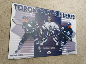 Toronto maple leafs poster board