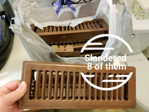 8 standered registers