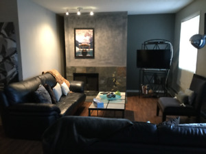 Awesome fully furnished condo, central, 6 appliances, avail now