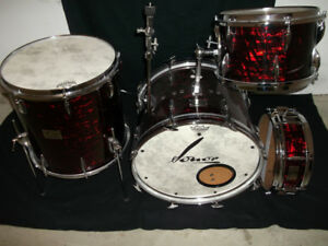 Early 1960's  Sonor Teardrop Drums