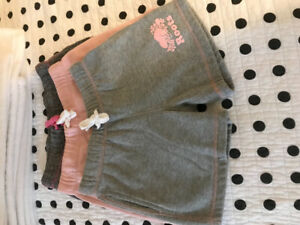 Girls roots shorts