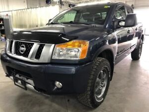 2015 Nissan Titan Crew Cab PRO-4X 4X4, $261BW, BEAUTIFUL BLUE