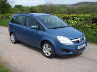 2008 08 Plate Vauxhall/Opel Zafira 1.6 16v ( 105ps ) Exclusive
