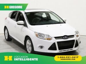 2012 Ford Focus SEL AUTO GR ELECT CUIR TOIT OUVRANT BLUETOOTH