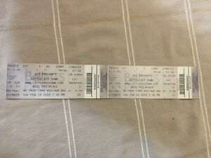 Little Big Town tickets X 2 section 127