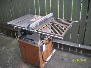 """10"""" rockwell beaver table saw"""