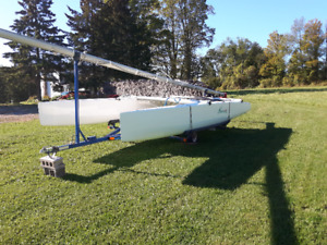 NACRA 6.0 Catamaran and trailer for sale.