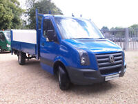 2008 08 Volkswagen Crafter 2.5TDi ( 109PS ) LWB CR35 - DROPSIDE - TAIL LIFT