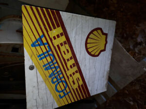 Shell Gas Pump doors