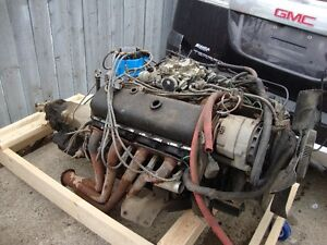 CHEVY BIG BLOCK 454 + TRANNY