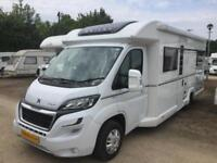 Bailey Autograph 75 2, 2017, Sleeps 4, Only 4634 Miles, With Warranty's,