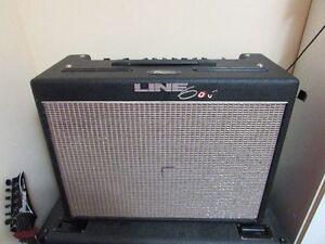 Line 6 Flextone II 1x12 60 watt combo with footswitch