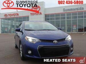 2015 Toyota Corolla 4DR SEDAN S CVTI-S  -  Heated Seats - $55.34