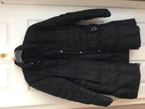 Black winter jacket ladies