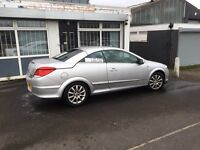 VAUXHALL ASTRA TWINTOP SILVER 2007 PETROL CONVERTIBLE