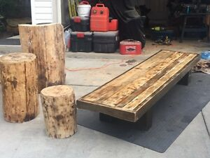 Handcrafted custom tables