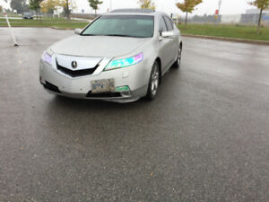 2009 ACURA TL 3.7L AWD emission, new tires, good condition