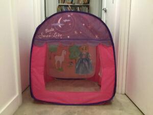 Mini tente pour enfant barbie