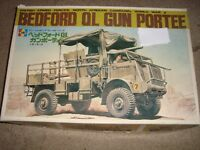 Model kit Bedford Gun Portee