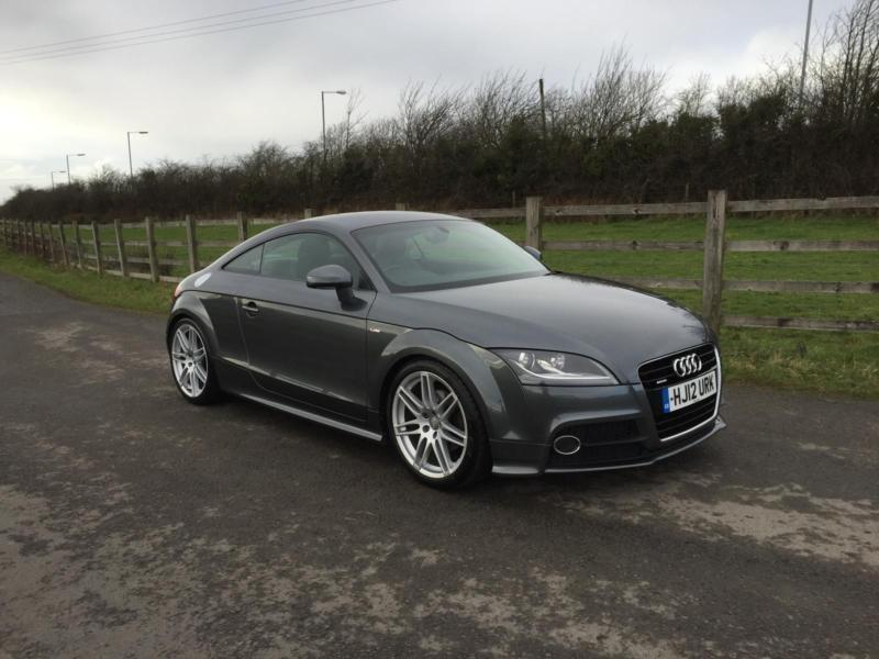 audi tt coupe 2 0tdi quattro 2012 s line finance available in fforestfach swansea gumtree. Black Bedroom Furniture Sets. Home Design Ideas