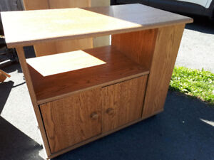 Wooden tv stand/side table