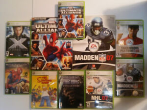 XBOX 360 Collection incl. The Simpson's Game (collectors item)