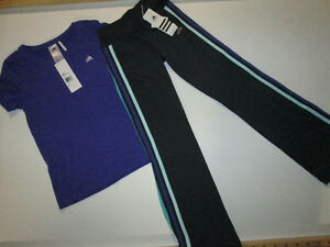 Girls Fall Winter Lot #19 Adidas set - NEW, size s (7/8)