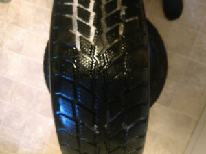 Selling Two winter tires 195 65 15