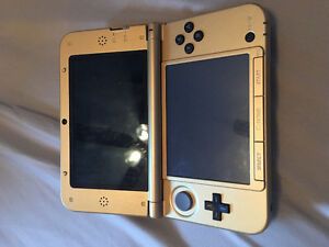 3DS Zelda gold edition with super smash brothers