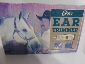 Pet face and ear trimmer