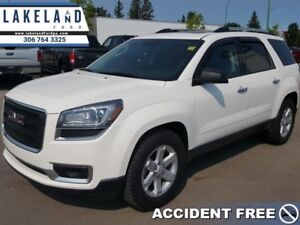 2014 GMC Acadia SLE2  - sk tax paid - 1 Tax Unit -  Accident Fre