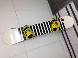 Option Mendenhall Snow Board with Ride Bindings Mens