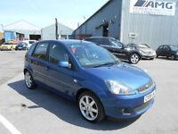 Ford Fiesta 1.25 2007.25MY Zetec Blue 5 door