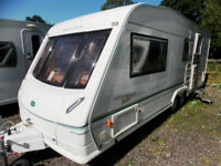 Bessacarr Cameo 550GL 2003 4 Berth Twin Axle Centre Dinette Touring Caravan