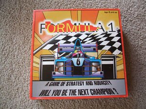 Formula 1-   A Game of Strategy and Audacity