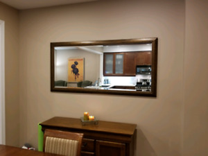 Large mirror  33 x 70 inches