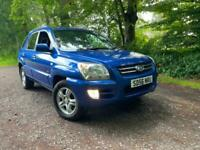 4x4 KIA SPORTAGE XS 2.0 CRDI FULL LEATHER 73K IMMACULATE CONDITION