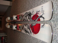 Line Opus 185cm Skis with Fritschi Touring Bindings