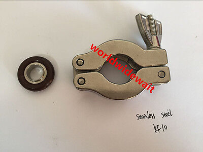 stainless steel KF-10 vacuum clamp Contain circle quick release flange 1PC