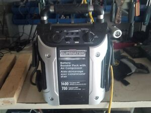 motomaster eliminator battery booster pack with air compressor manual
