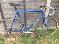 Large Omega vintage men's road racing bike 57/60cm
